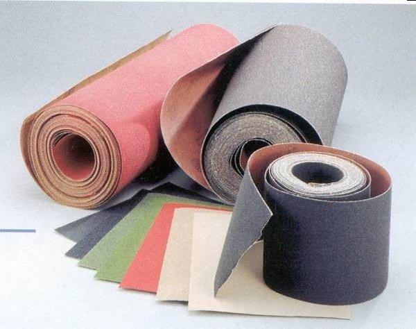 Наждачная бумага. Производство.